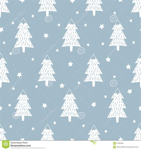 christmas tree new year pattern happy new year background simple seamless retro christmas