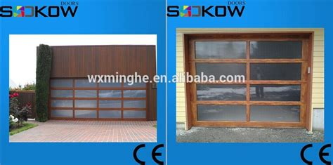 Wood Imitation Aluminum Garage Doors Wooden Frame Glass Garage Doors Unlimited Leominster Ma