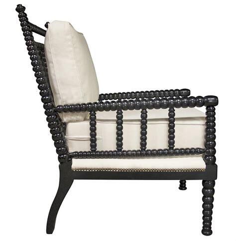 Bobbin Chairs Saville English Style Bobbin Black Living Room Chair