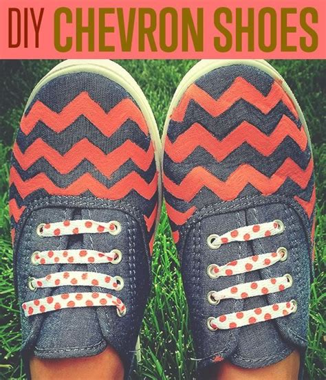 chevron pattern vans how to make patterned shoes cool diy projects cool diy