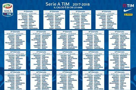 Calendario Torino Calendario Serie A 2017 2018 Si Parte Al Dall Ara Con