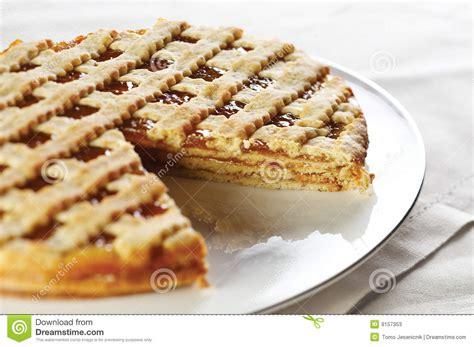 Marmelade Kuchen Stockfotos Bild 9157353