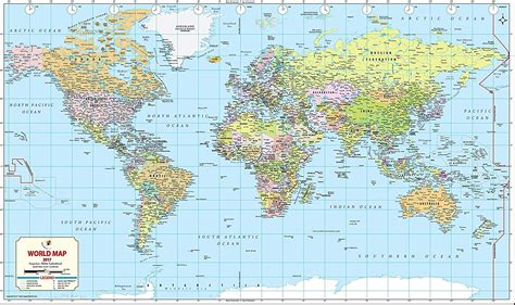 world map image 2017 buy world map 2017 52 w x 30 89 h