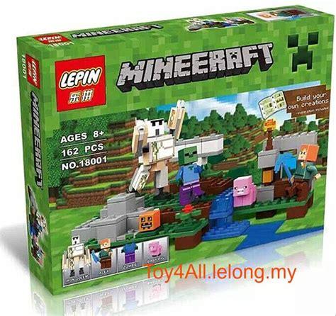 Produk Terlaris Lego Brick Compatible Lepin Minecraft The Cave 249 Pcs 2016 lepin minecraft the iron golem end 6 16 2018 2 23 pm