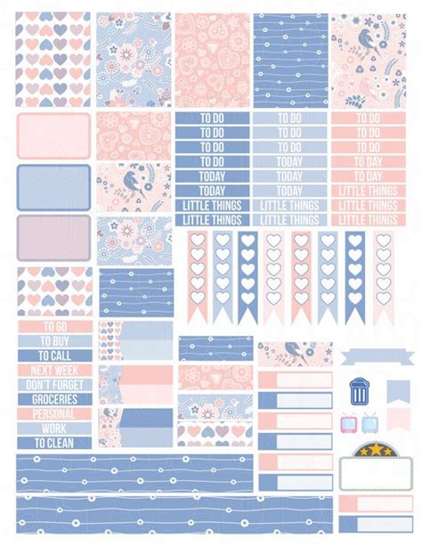 free printable weekly planner stickers 1000 ideas about printable planner stickers on pinterest