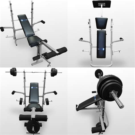 weight benches with weights included bodyrip folding weight bench gym exercise lifting chest