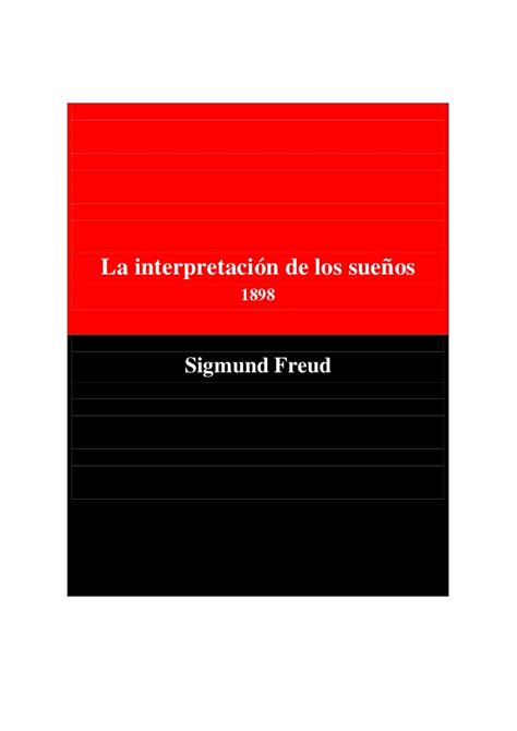 interpretacion de los sue 241 os sigmund freud