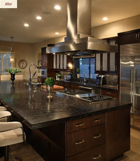 chefs dream  transitional kitchen