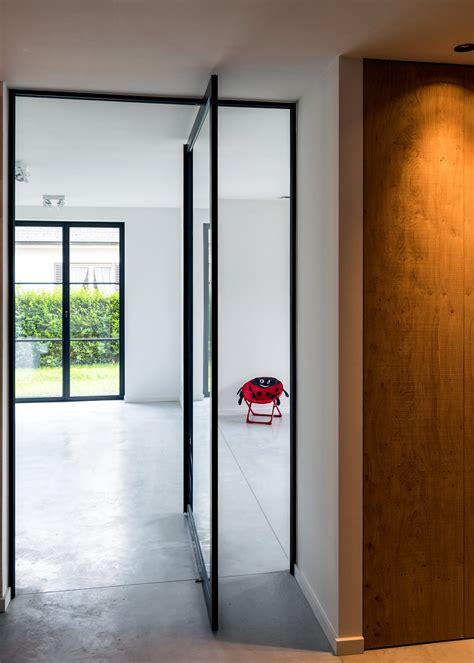 Modern Glass Pivoting Doors Made To Measure With Glass Pivot Door