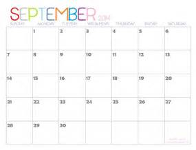Calendar 2014 Template Printable by September October November Calendar Calendar Template 2016