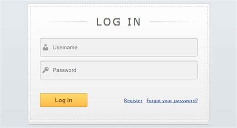 design form login html 10 beautiful css html login forms
