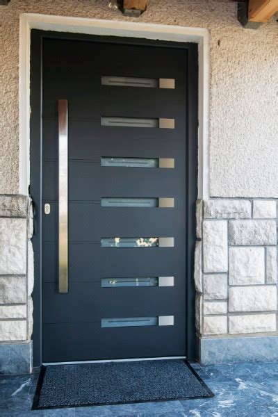 Contemporary Exterior Front Doors Modern Aluminum Front Entry Door Modern Front Doors New York By Ville Doors