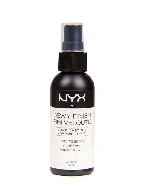 Nyx Dewy Makeup Setting Spray nyx dewy finish setting spray from 2020ave