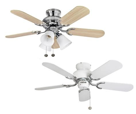 Fantasia Capri Ceiling Fans 36 Quot White Stainless Steel Fantasia Ceiling Fan Lights