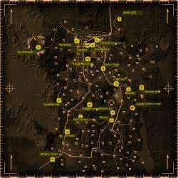 Map Of Fallout New Vegas by Fallout New Vegas Merchants Fallout Wiki Wikia