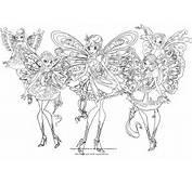Disegno Delle Winx Club Butterflix Da Colorare