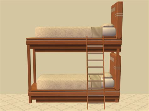 bunk beds wiki mod the sims bunk bed