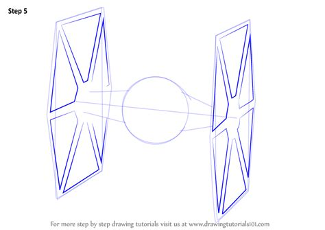 learn how to draw tie fighter from wars the