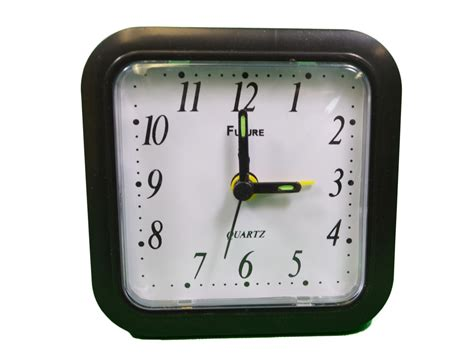 quartz travel analog table alarm clock battery operated ebay