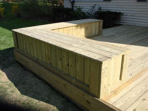 deck bench height 17 best images about backyard oasis on pinterest outdoor