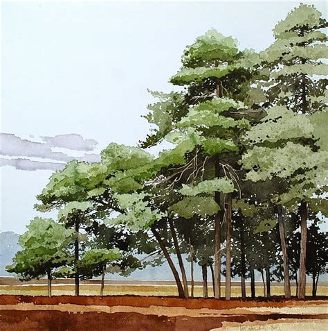 tutorial watercolor trees 56 best images about ian sidaway on pinterest