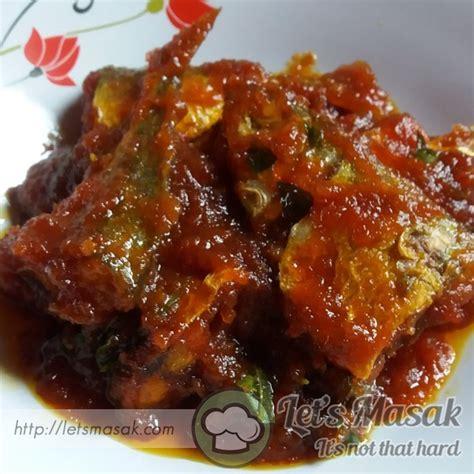 Minyak Ikan Masak ikan kembung masak sambal recipe letsmasak