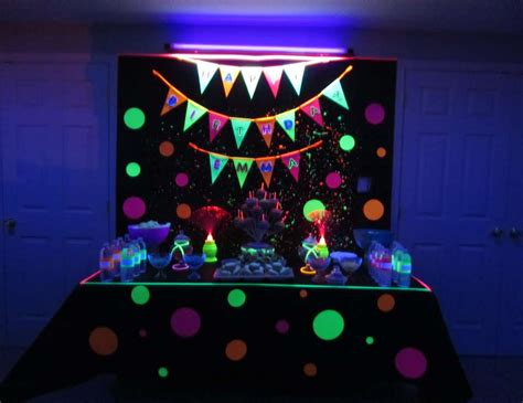 Wall Mural Tutorial glow in the dark birthday quot emma s 14th birthday quot catch
