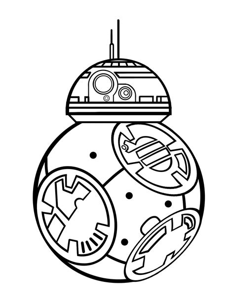 lego bb 8 coloring page bb8 jpg 2 550 215 3 300 pixels colouring pages pinterest