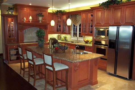 Kitchen Cabinet Refurbishing Ideas Charming Refinish Kitchen Cabinets Ideas 26 Upon