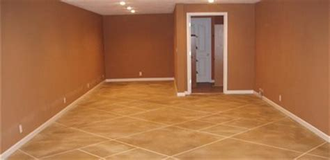 Concrete Basement Floors  Photos and Ideas for Covering