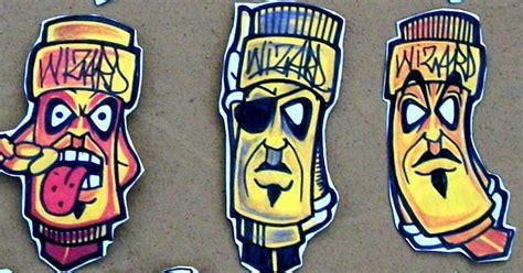 graffiti characters stickers  wizardlabels  deviantart