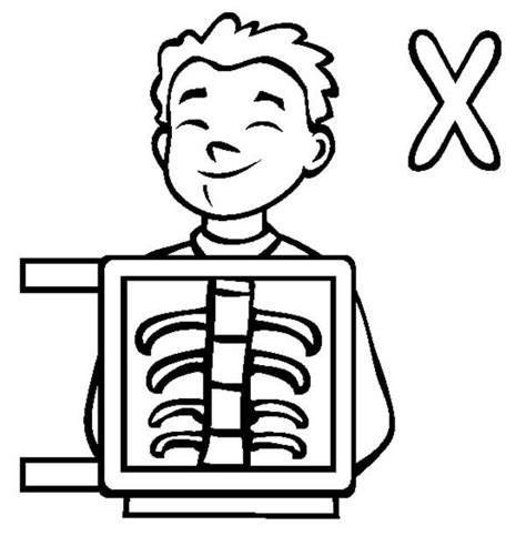 x ray printable coloring pages x ray coloring pages for kids az coloring pages