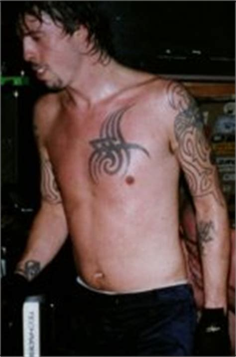 celebrity tattoos foo fighters dave grohl