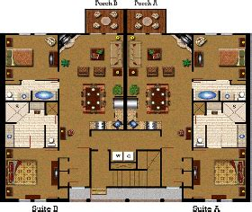 vacation village at parkway floor plan resort
