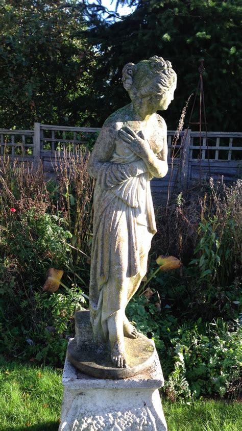 statue  venus bathing    vintage garden company