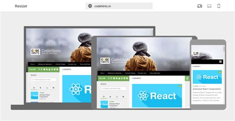 design google resizer codehints verify your responsive website design with