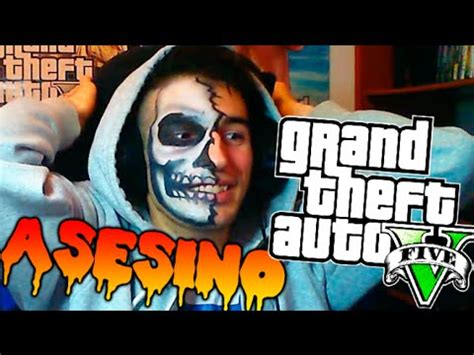 especial epic troll a el asesino halloween asesino!! gta v