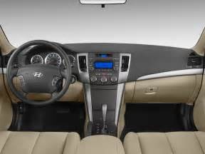2009 hyundai sonata cockpit interior photo automotive