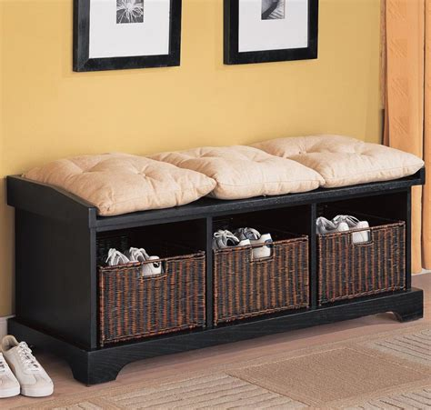 for living verona wicker entrance bench living room attractive storage bench for living room