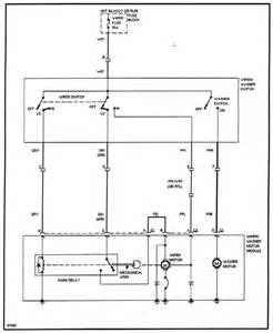 wiper motor wiring diagram get free image about
