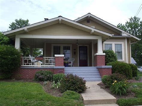 finished porch craftsman style homes pinterest love a bungalow too wrap around porches are the best
