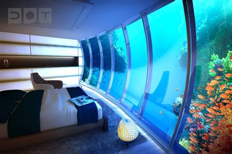 Underwater Bedroom | 10 extraordinary bedrooms