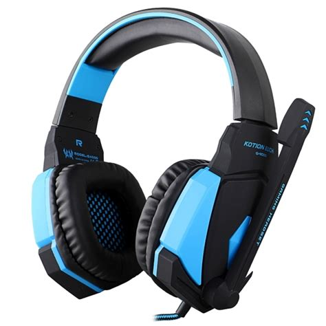 Headset Gaming Kotion Each G6200 Led With Usb 71 Surround Vibrate kotion each g4000 usb version stereo gaming headphone