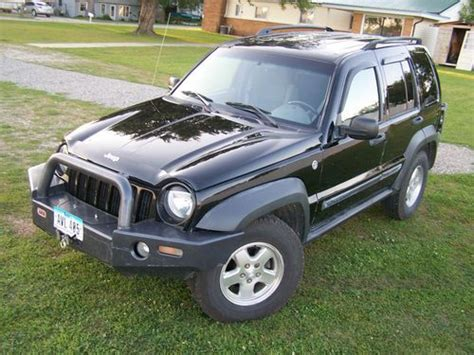 2006 Jeep Liberty Diesel Purchase Used 2006 Jeep Liberty Crd Turbo Diesel Suv 4x4