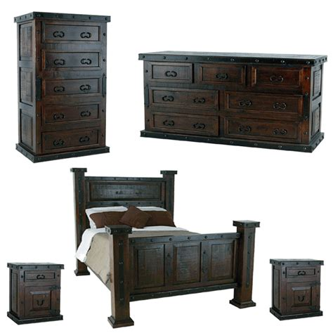 rustic wood bedroom furniture rustic bedroom set dark rustic bedroom set pine wood