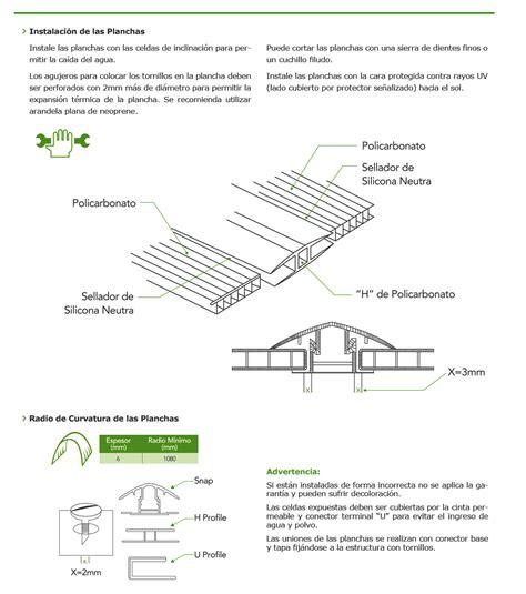 como instalar techo de policarbonato como instalar policarbonato techos en policarbonato