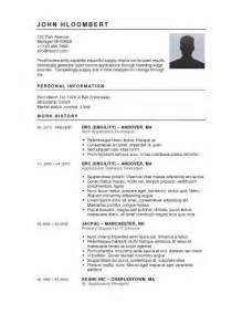 template for a resume microsoft word microsoft word resume template 2017 best business template