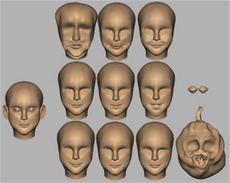 blendshape face animation