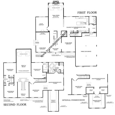 homes by marco floor plans marion model in the hawthorn woods country club