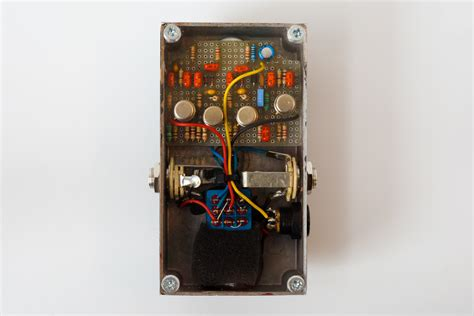 Handmade Effects Pedals - black muck limited jam pedals